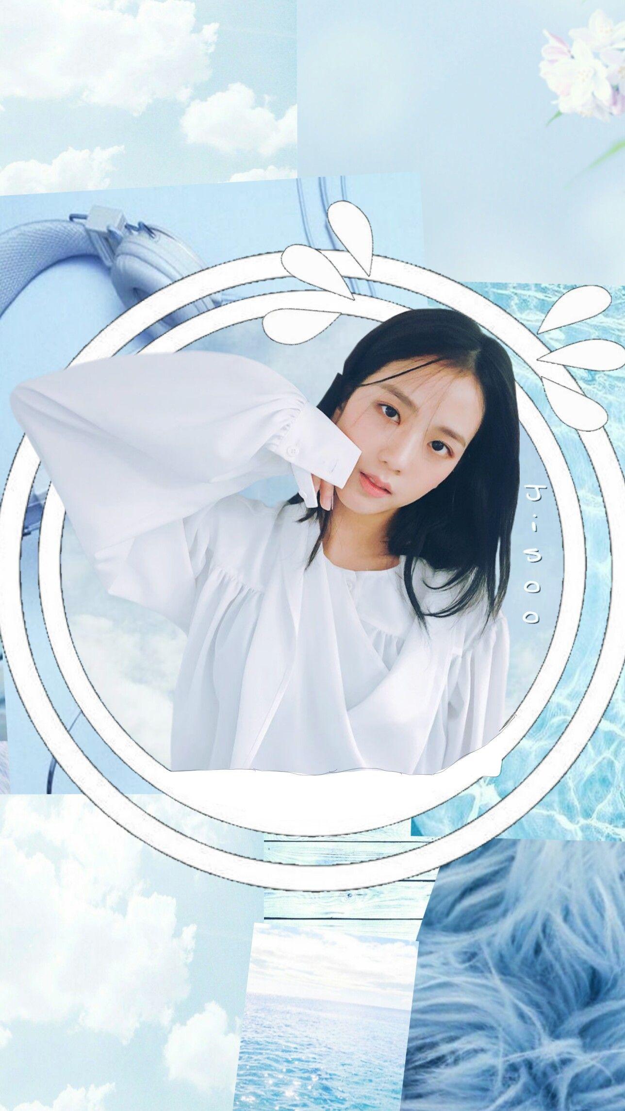 3 5 Tags Freetoedit Jisoo Kimjisoo Blackpink Blue Bluegirl Girl Blueaesthetic Aesthet Blue Aesthetic Pastel Blue Aesthetic Blue Wallpapers