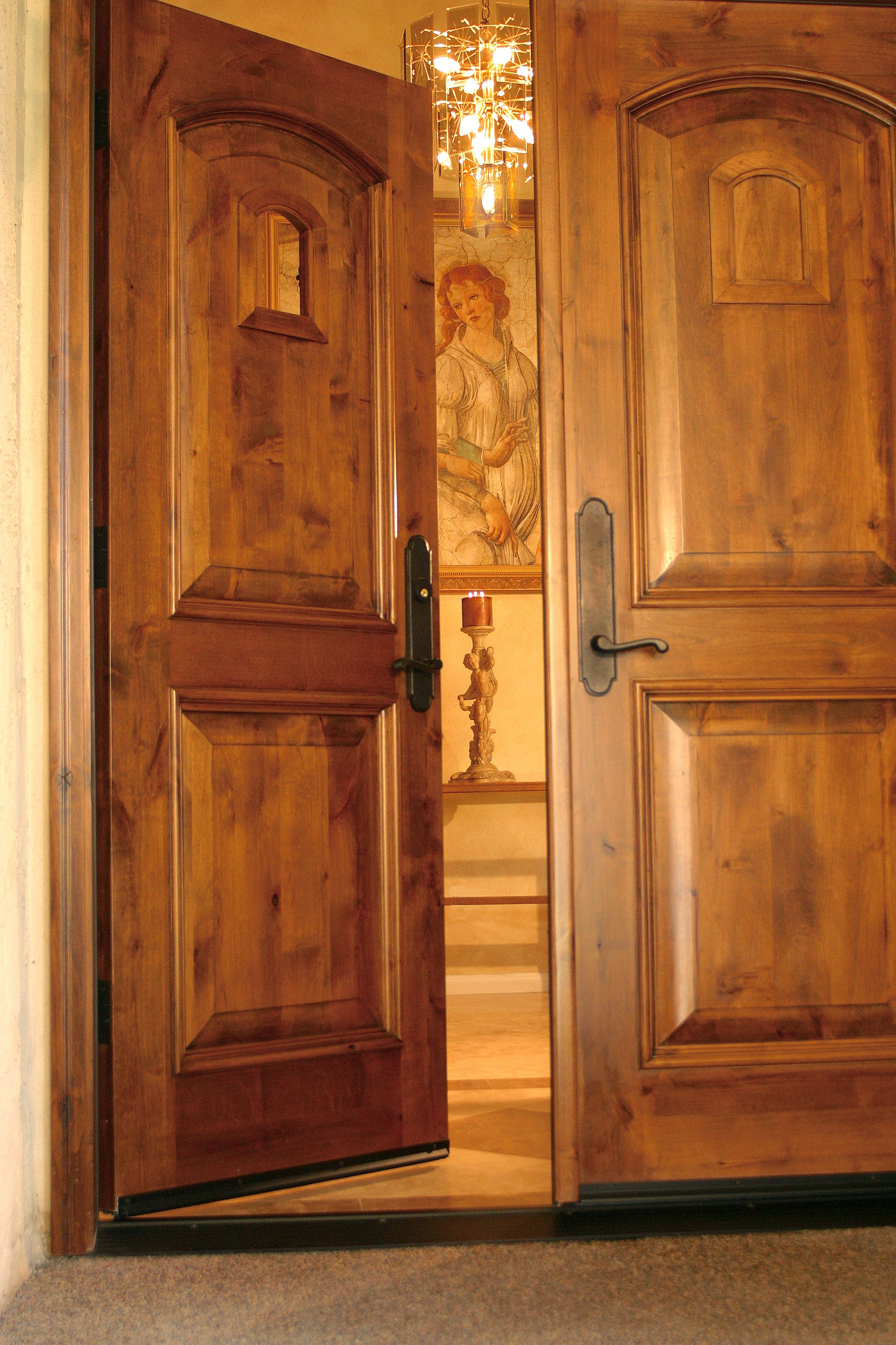 Custom Wood Entry Door By Grand Entrances In San Diego Ca Mediterranean Front Door S Mediterranean Front Doors Solid Wood Entry Doors Custom Wood Entry Door