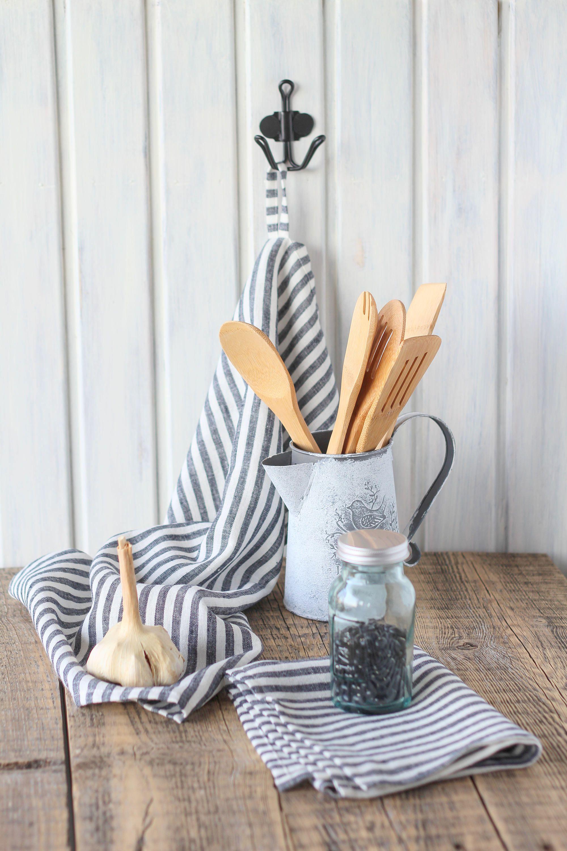 Dish towel set, Hand towel, Linen tea towel, House warming gift ...