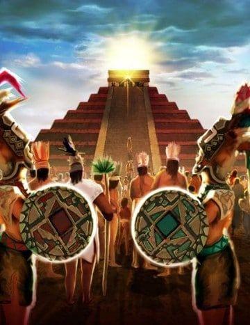 Dibujos De Piramides Mayas Imagenes Cultura