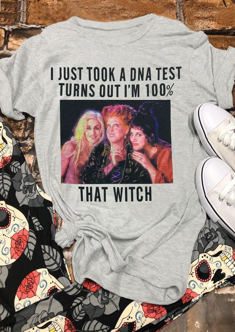 SANDERSON SISTERS T-Shirt Halloween HOCUS POCUS 100/% That Witch Mens TEE Top