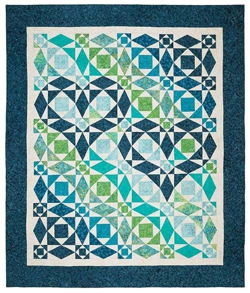 Hand Quilting Heart Patterns : Our Hearts Will Go On Quilt Pattern Keepsake Quilting This is really pretty! Very impressive ...