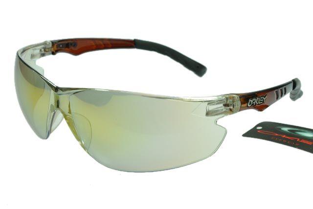 Oakley Radar Sunglasses Black Deep Brown Frame Silver Lens 0990 [ok-2015] -