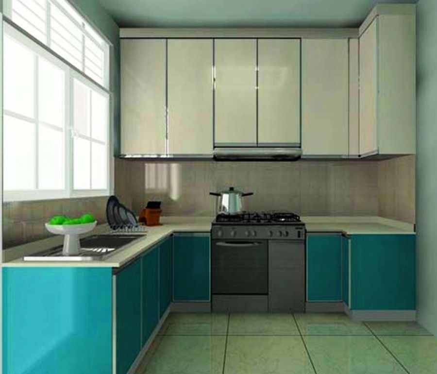 Long Narrow L Shaped Kitchen: You Can See And Find A Picture
