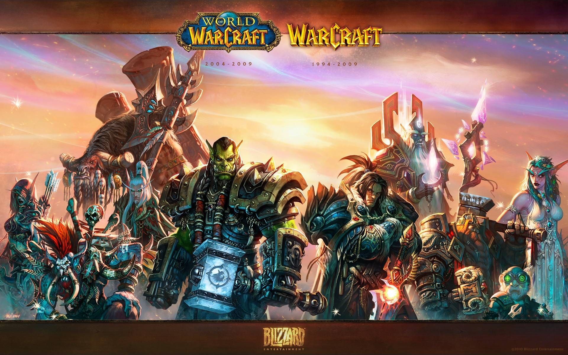 Every World Of Warcraft Expansion Wallpaper