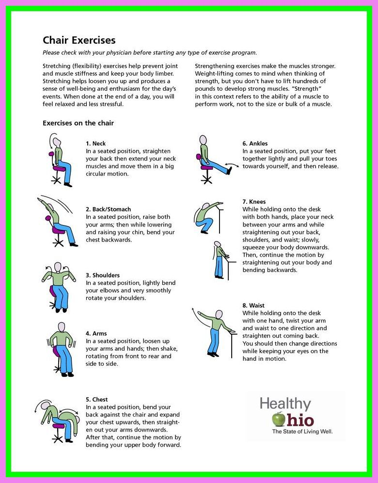 63 Reference Of Easy Chair Exercises For Seniors Pdf In 2020 Chair Exercises Senior Fitness Exercise
