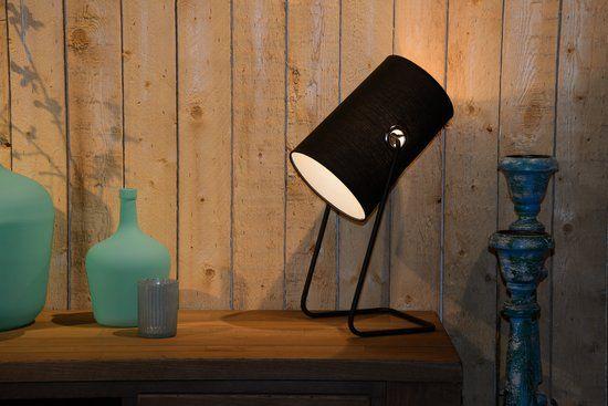 Lucide Bost Tafellamp E14 Zwart Tafellamp Tafelverlichting Verlichting