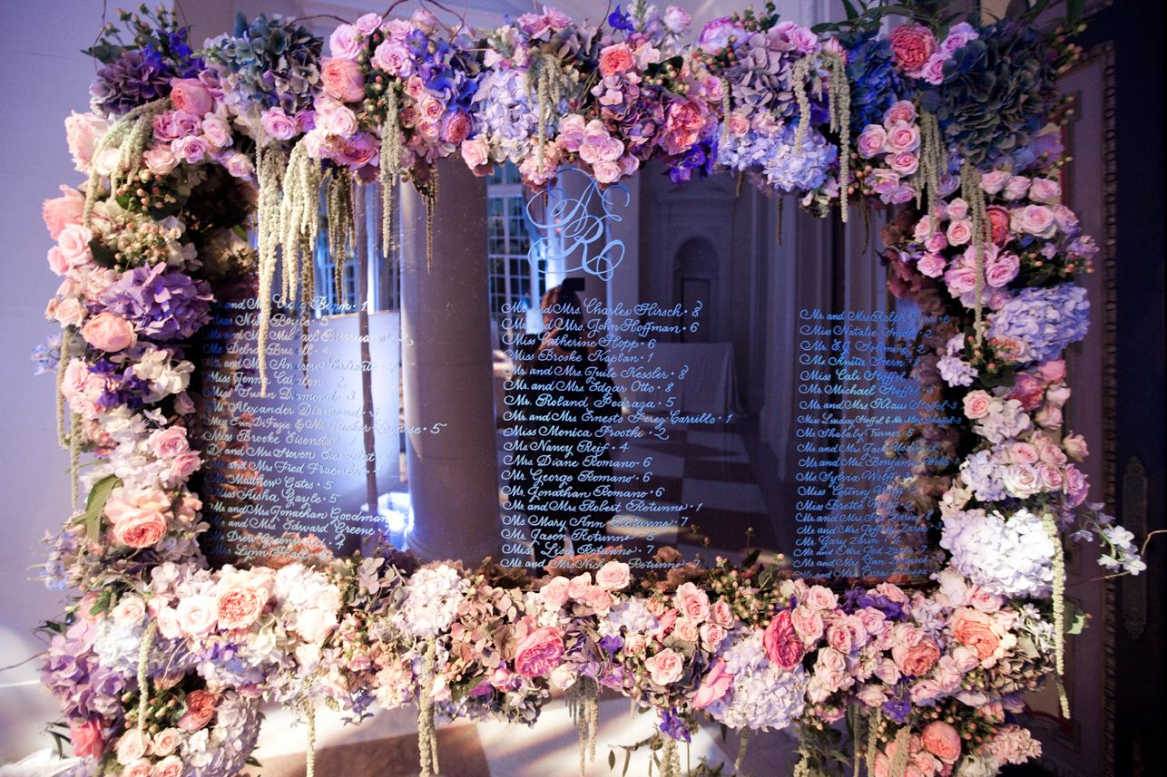 Inside wedding decoration ideas  How to Use Mirrors in Your Wedding Design  Wedding designs Unique