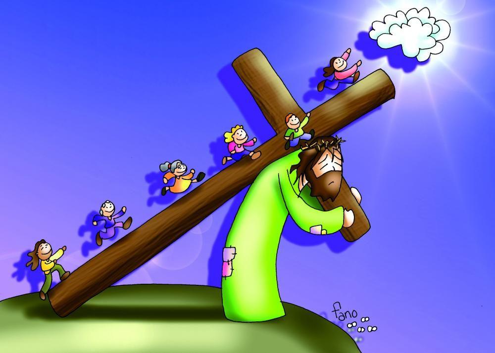 La Catequesis Nuevo Dibujo de Fano Semana Santa 2015  KRZY