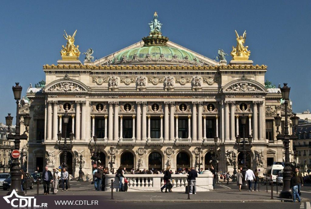 Monuments et vues de Paris l'opéra