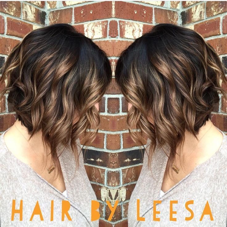 Brown Hair With Caramel Highlights Short Hair Hair Color Ideas And