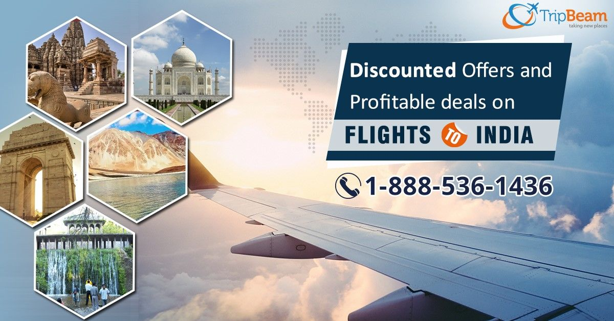 Plan Your Trip to #India and grab the best deals on flight tickets. Book Now!  Contact us at: 1-888-536-1436 (Toll-Free), info@tripbeam.ca.  #TripBeam #FlightstoIndia #CanadaToIndia #FLIGHTBOOKING #AIRLINETICKET #FLIGHTS #TRAVEL #Deals #FLIGHT #offers #plan #trip #Canada #tourism #tourandtravel