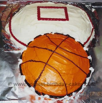 Coolest Basketball Cake Designs and Decorating Tips Orange foods
