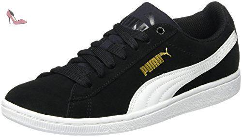 Vikky, Sneakers Basses Femme, Noir (Black-White), 41 EUPuma