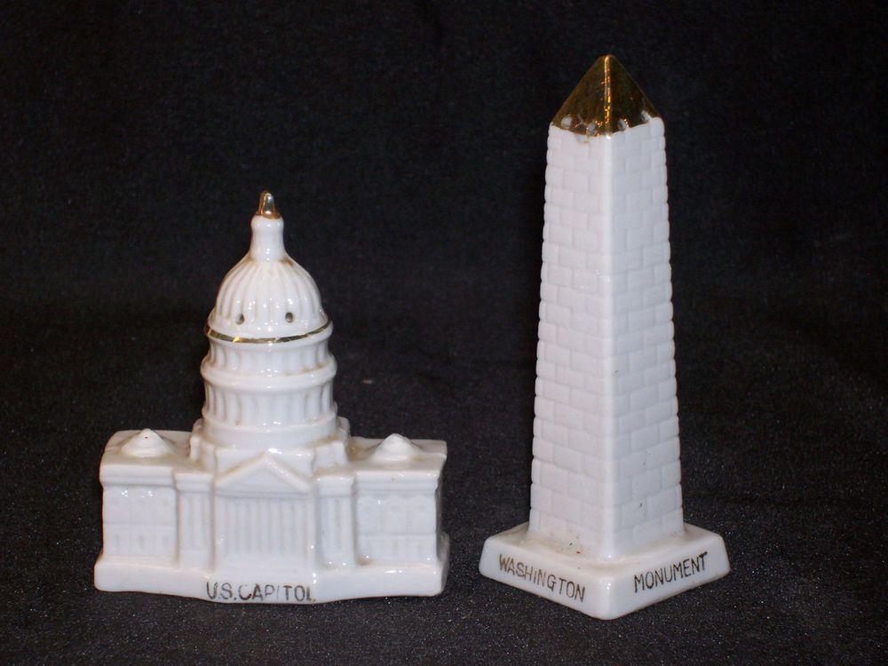 Salt And Pepper Dc souvenir washington dc monument capitol building salt pepper