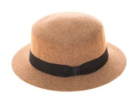 1b549ea5bb4bdf We're wholesale wool hats suppliers and have the best selection of winter  hats! Check out this wool boater hat.