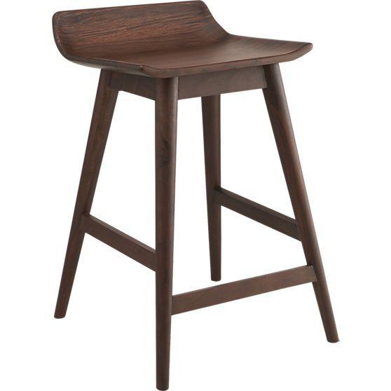 wainscott bar stool counter height cb2