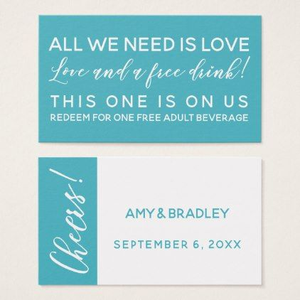 all you need is love and a free drink ticket aqua office