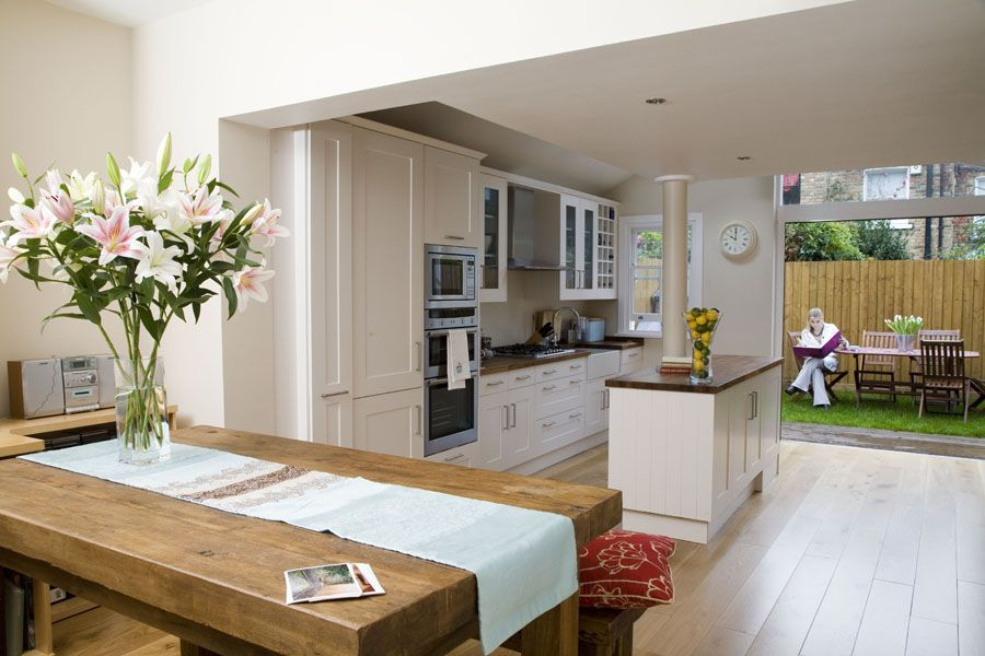 Kitchen Living Extension Terraced House