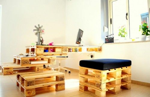 Design your office with wood office chair and office desk