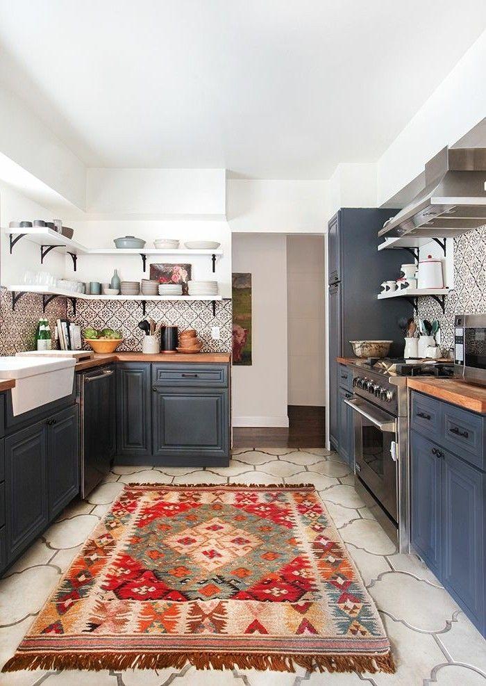 La cuisine style campagne - décors chaleureux vintage - Archzine.fr ...