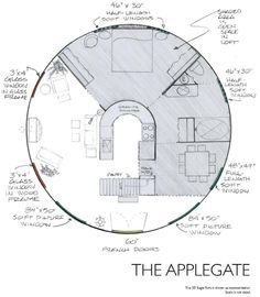 Yurt floor plans applegate i love these plans finally a for Yurt home plans