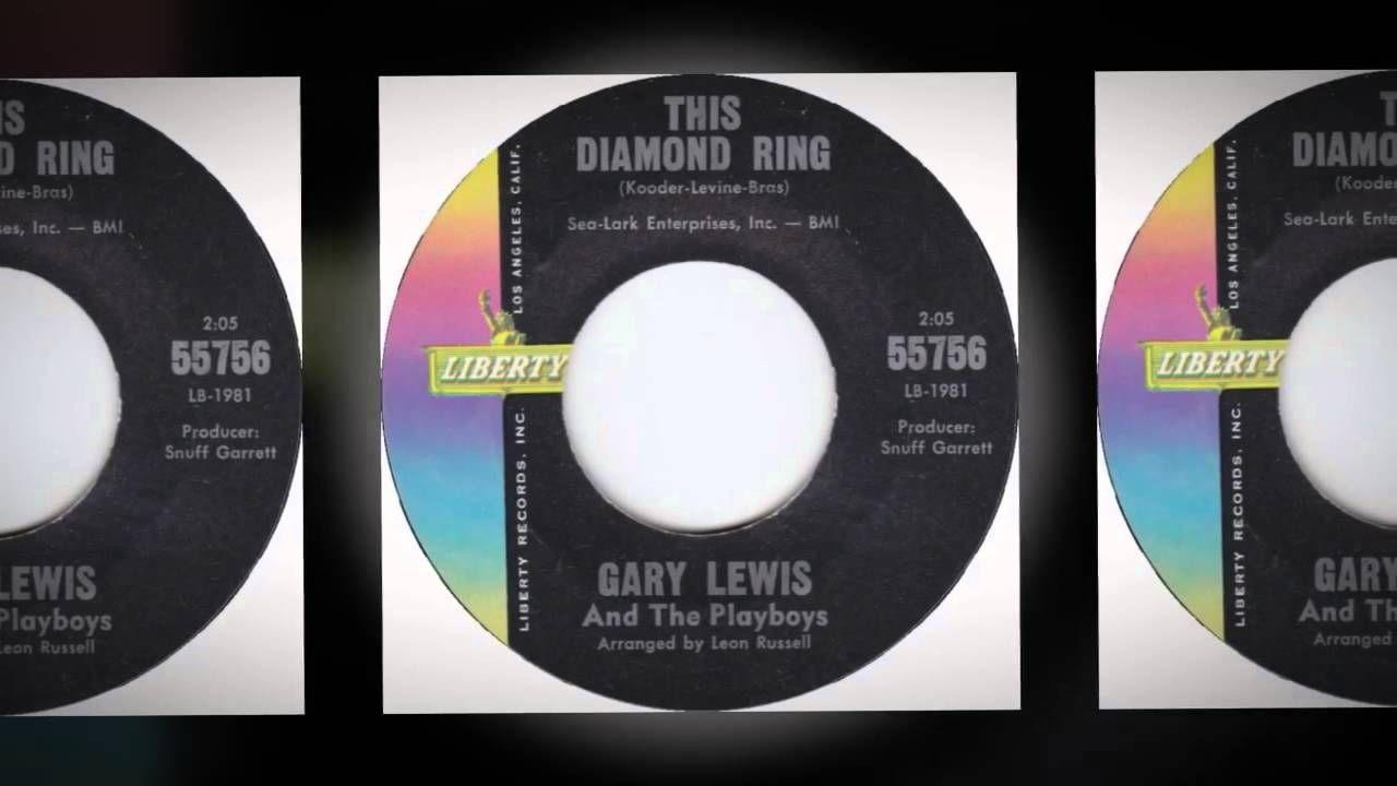 "GARY LEWIS & THE PLAYBOYS-""THIS DIAMOND RING""(VINYL&LYRICS)"