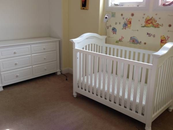 Baby Crib$350 and Dresser$599 Mattress $130- all from ...