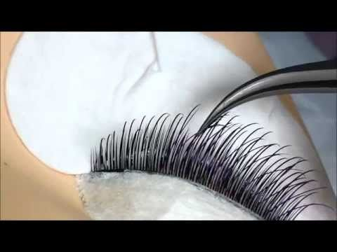 b6294ba133d Volume Eyelash Extension Tutorial 101: 3D-6D Volume Lash Application -  YouTube