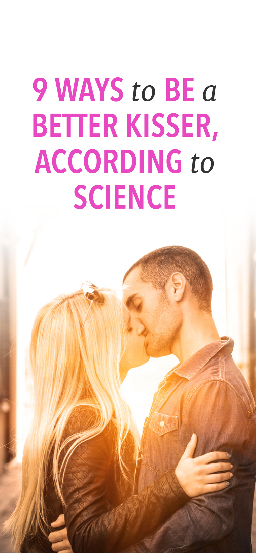 How be good kisser according science