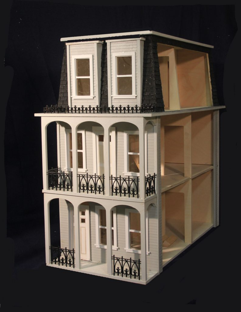 dollhouse from the french quarter. st charles side open- Majestic Mansion