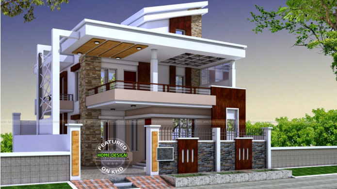 Box Type House Elevation Elevation Design  India | Elevation | Pinterest |  House Elevation, India And Box Part 94