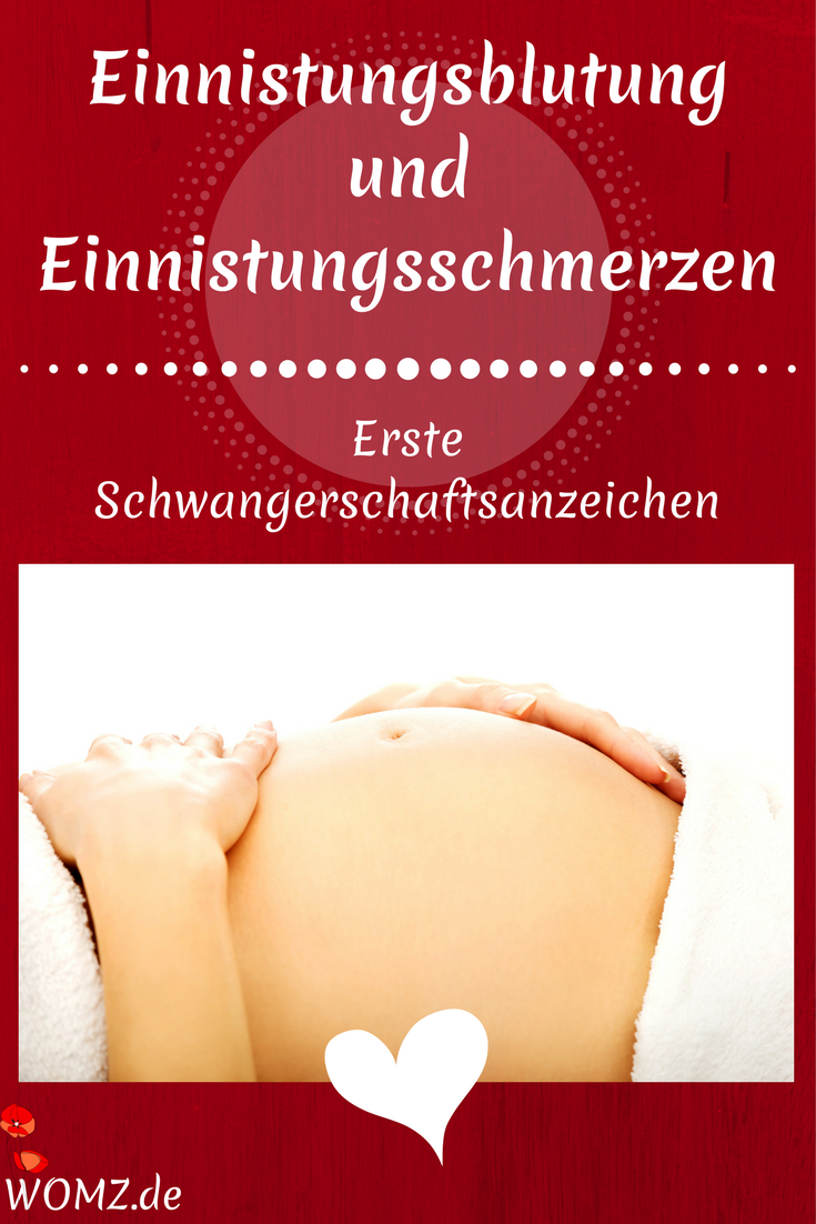 Einnistungsblutung schwangerschaftstest
