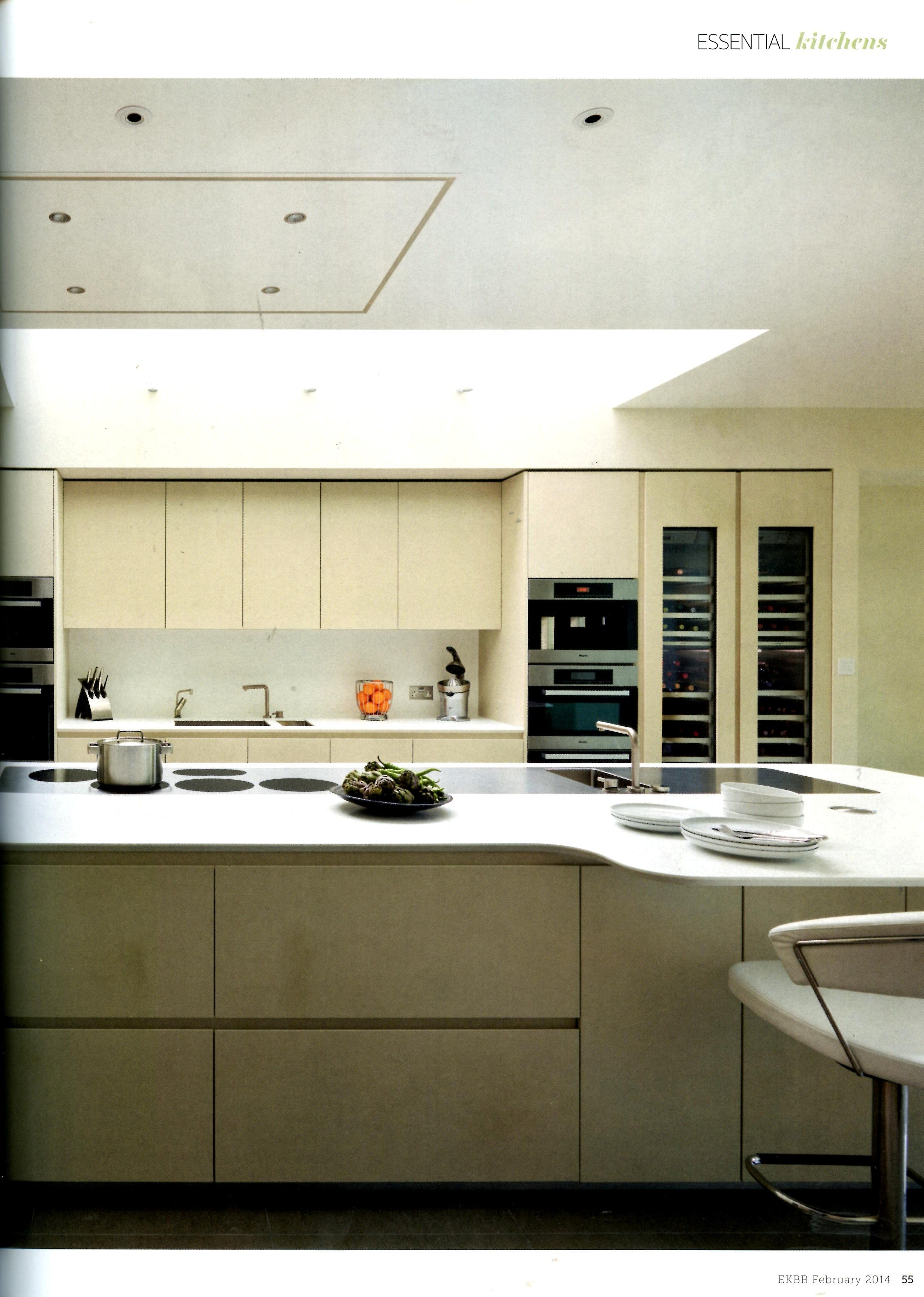Modulnova Twenty Kitchen From Design Space London With Handleless Cabinetry
