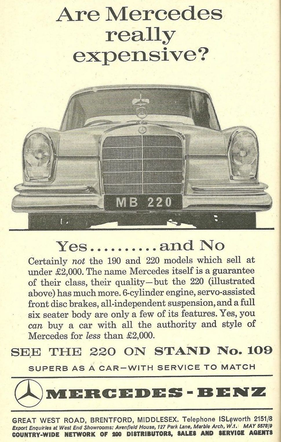 1964 Earls Court Motor Show: The Cars You Could Have Bough
