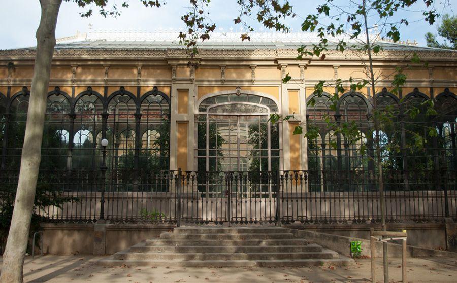 Hivernacle del Parc de la Ciutadella.
