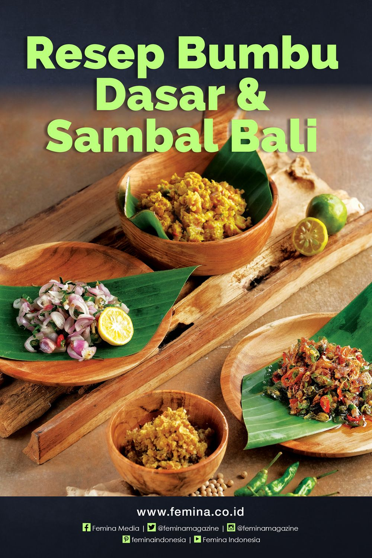 Bumbu Dasar Sambal Bali Resep Masakan Fotografi Makanan Resep Masakan Indonesia