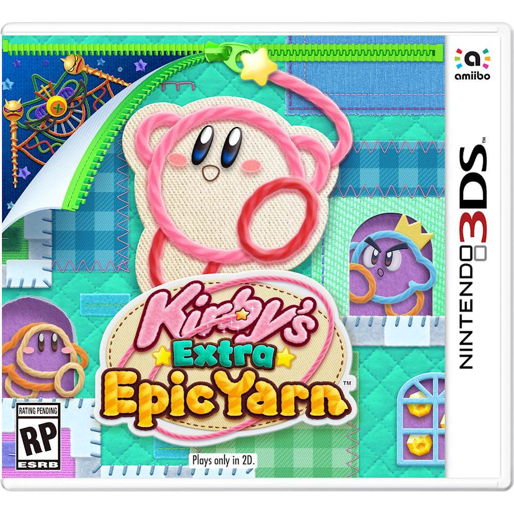 Kirby S Extra Epic Yarn Nintendo 3ds Ctrpbe4e With Images