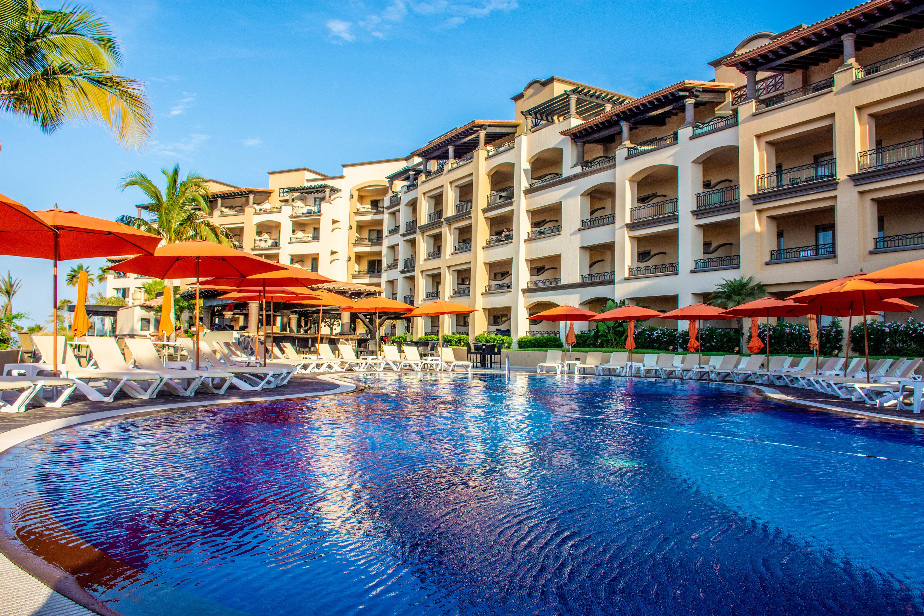 Situated within the exclusive residential development of Quivira Los Cabos  and overlooking… | Pueblo bonito sunset beach, Cabo san lucas resort,  Sunset beach resort