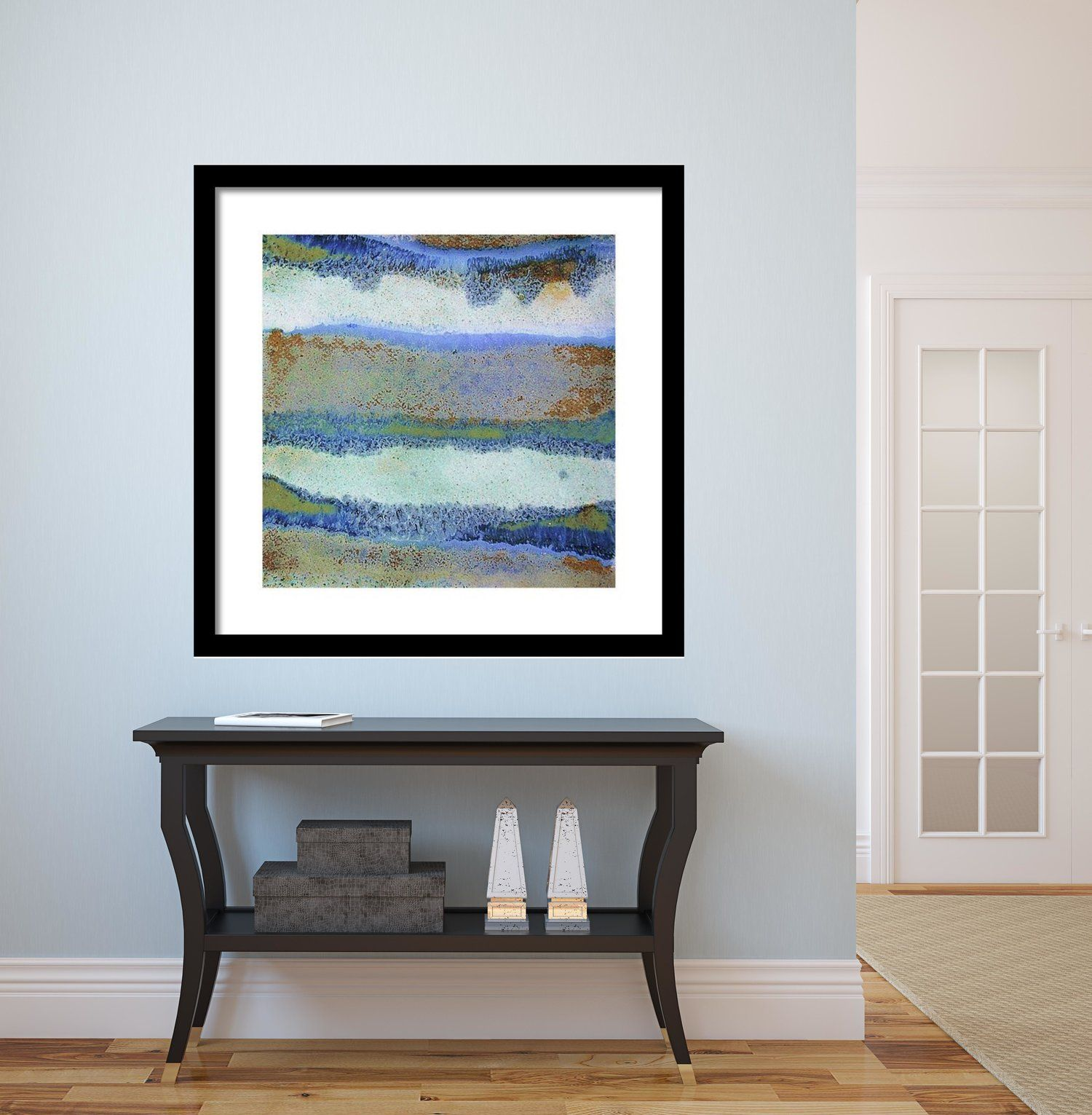 Abstract Framed Wall Art   Square #33
