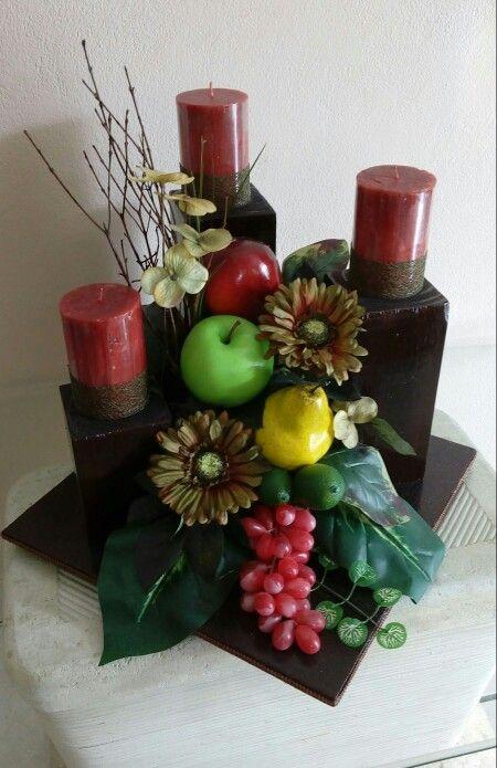 Centros de mesa para comedor  floreros vintage  Pinterest