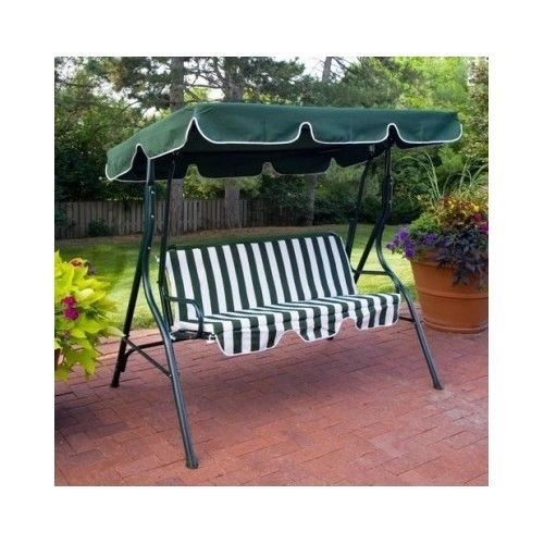 Patio Swing Canopy 2 Person Bench Outdoor Patio Furniture