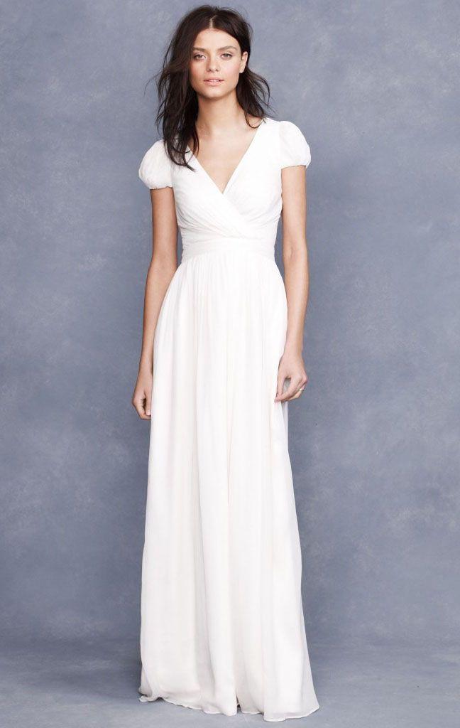 Wedding Trends Short Sleeved Wedding Dresses Friends Wedding