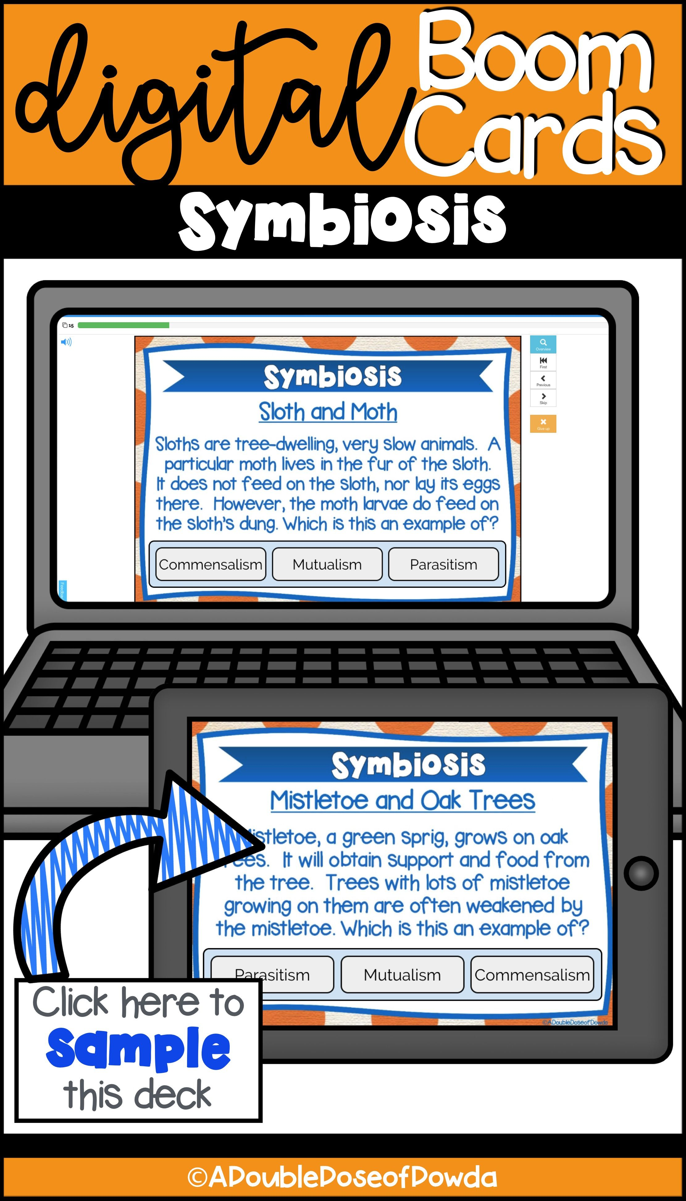 Let Students Practice Classifying Symbiotic Relationships
