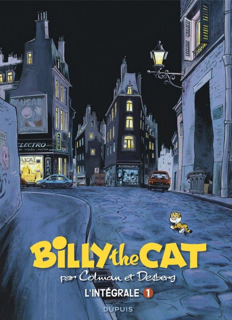 « Billy the Cat : L'intégrale T1 » par Stéphan Colman et Stephen Desberg   BDZoom.com