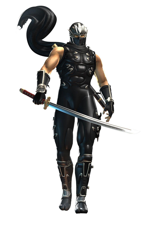 Ryu Ninja Gaiden Black Kartun Gambar