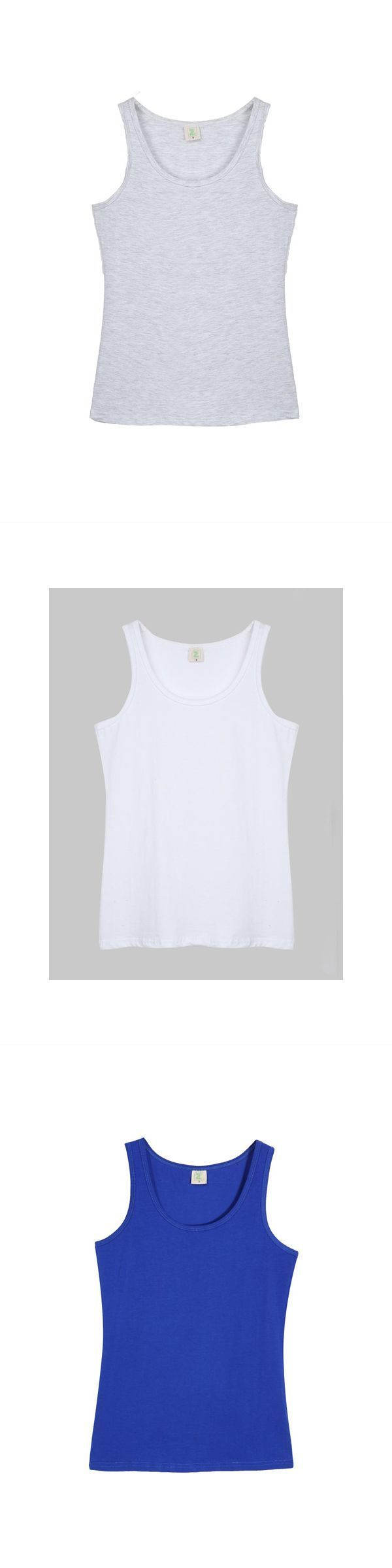 Women 8217 S Yankee Tank Tops Spaghetti Strap Solid Color Cotton Vest