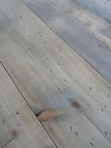 Wide Reclaimed Pine Floorboards 12
