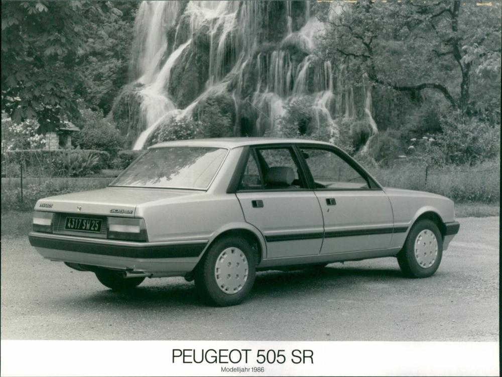 Peugeot 505 Sr 1985 In 2020