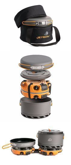 Photo of The Jetboil Genesis Base Camp 2 burner system is a group cooker for …